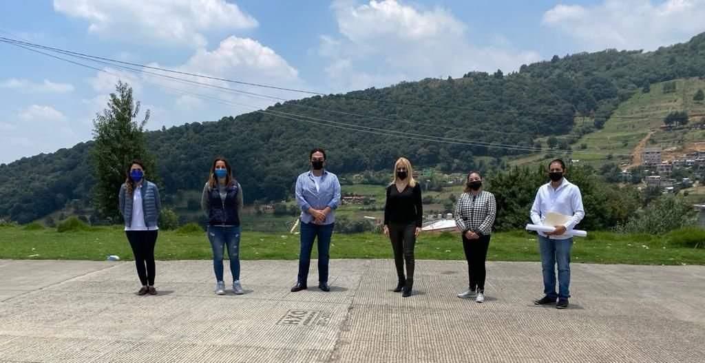 Huixquilucan informa sobre las obras públicas que se realizan