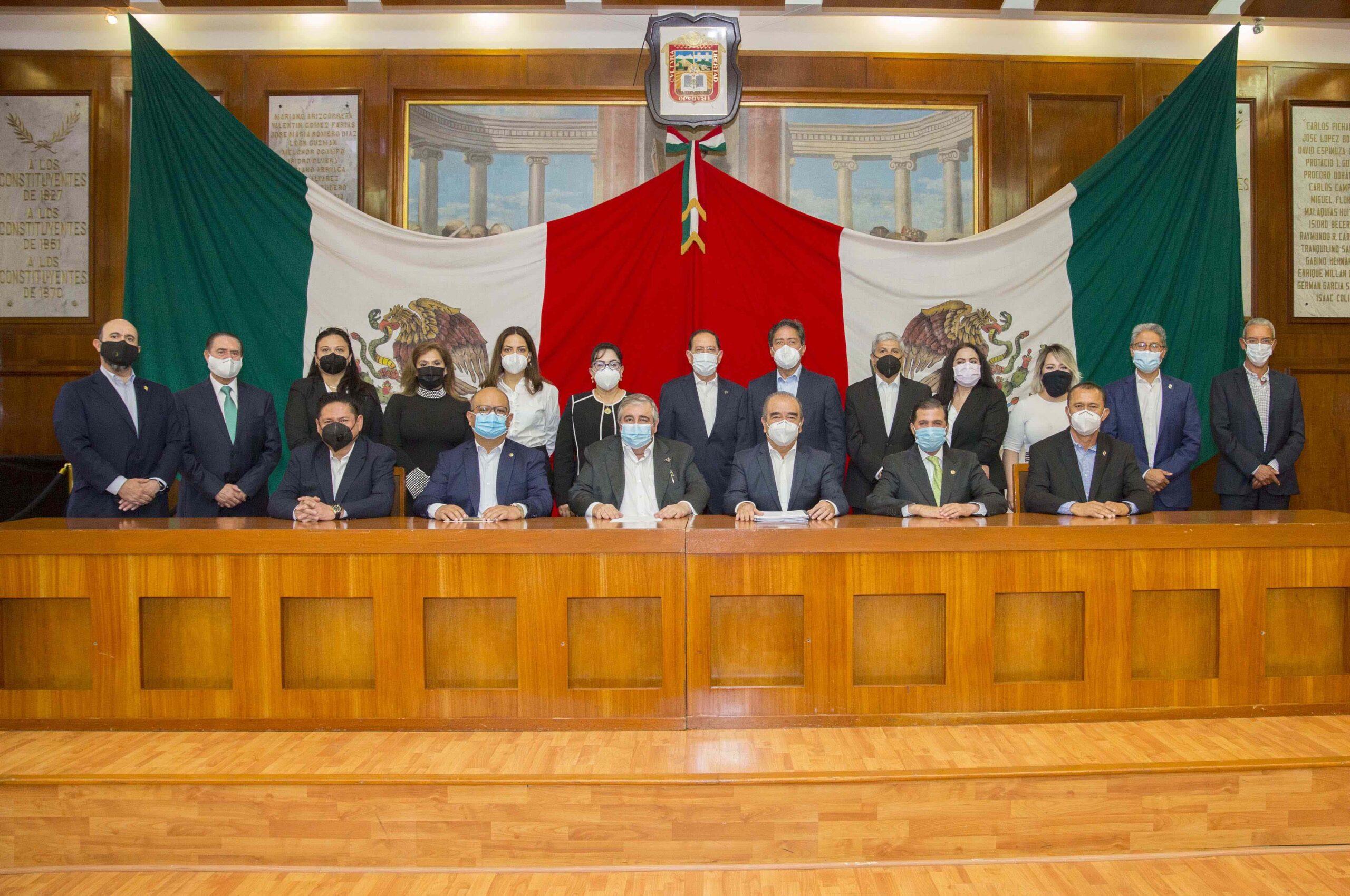 Presentó PJEDOMEX a la  LX Legislatura iniciativas de reforma y adiciones
