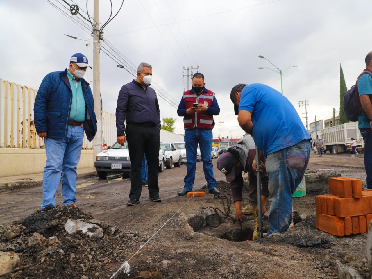 Liberan 281 millones de pesos para 5 pozos, drenaje y arcotechos en Ecatepec