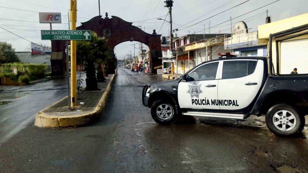 Afectaciones por las lluvias en San Mateo Atenco