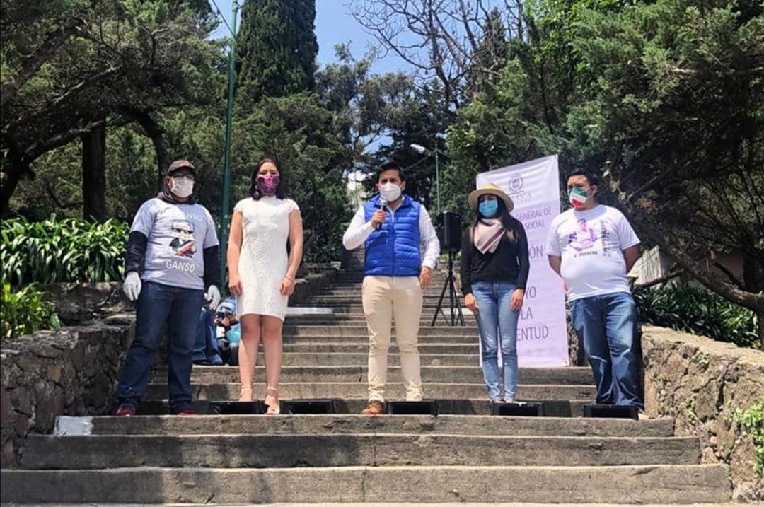 Jóvenes de Toluca se unen a la recuperación de espacios con Pinceladas de Paz