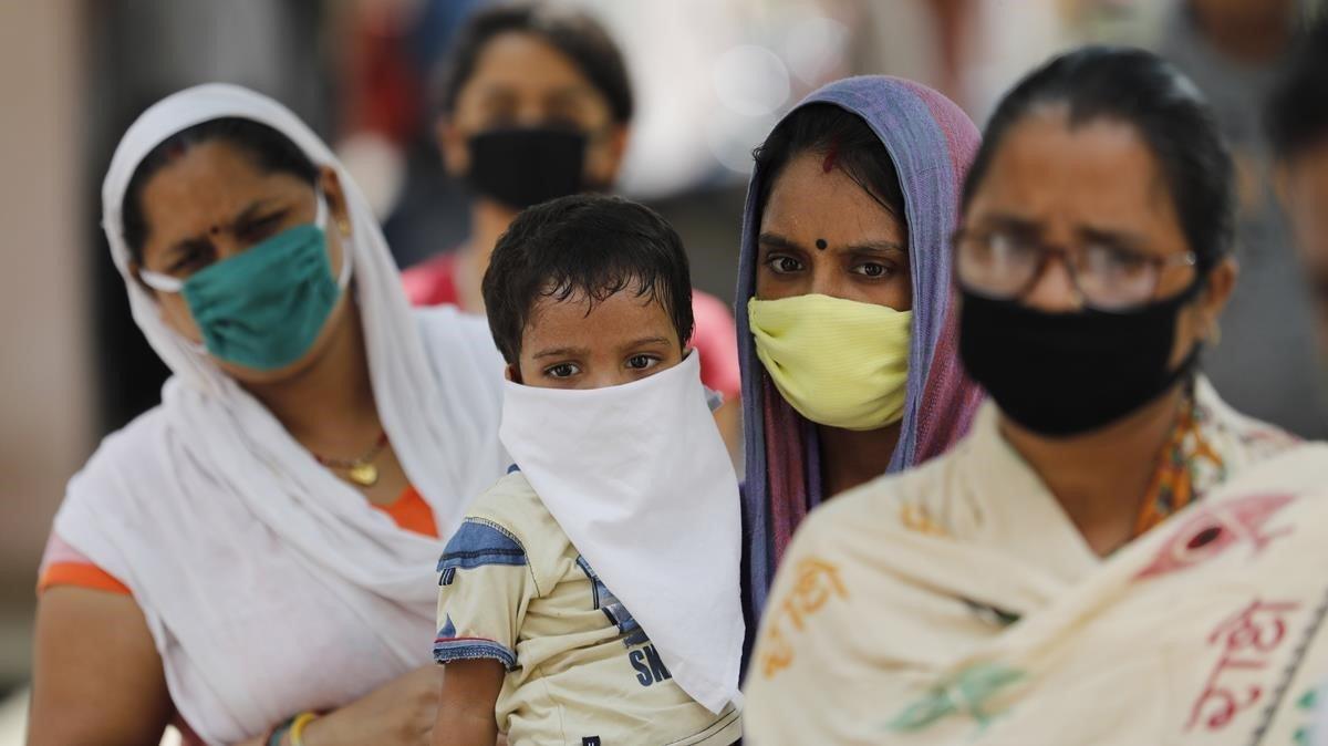 India se encamina a ser el país con más casos de covid-19