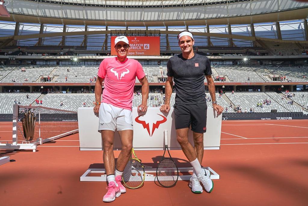 Roger Federer felicitó a Rafael Nadal por igualar su legendaria Marca