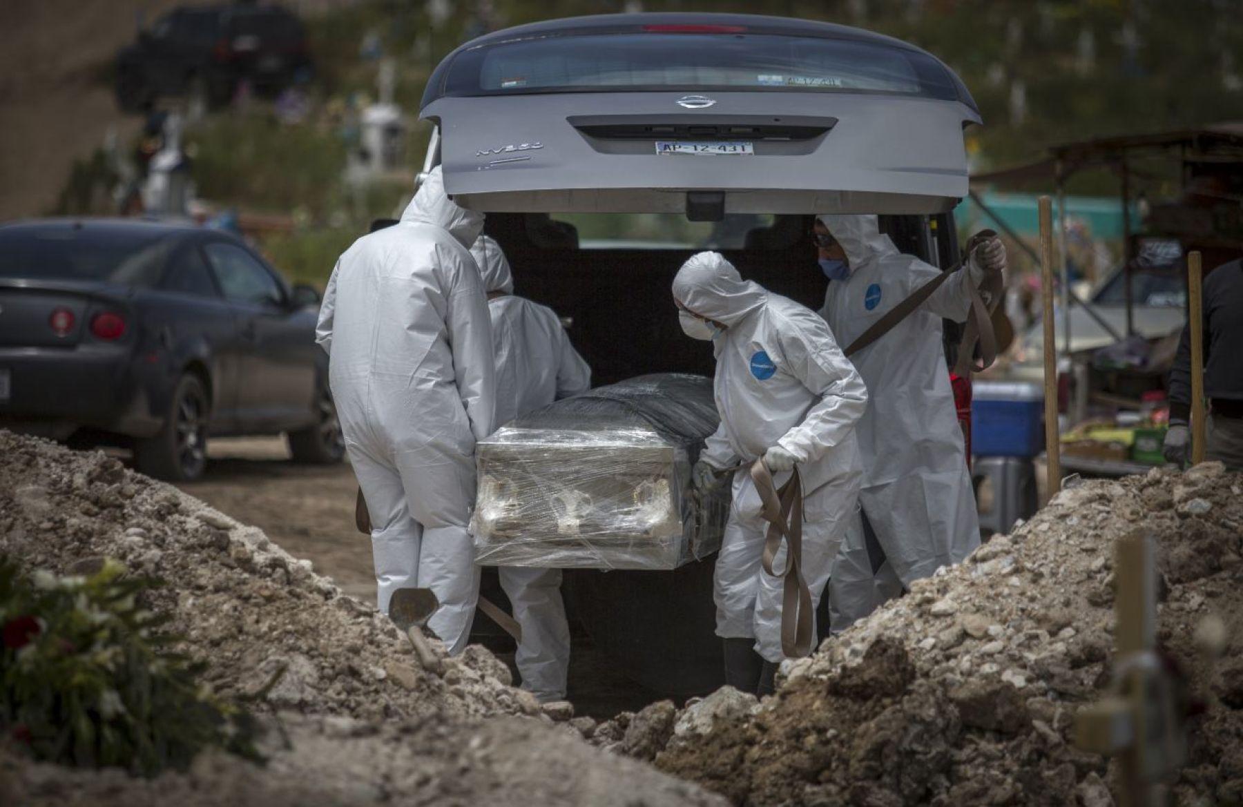 México registra 5 mil 658 nuevos casos de COVID-19 y 626 muertes en solo 24 horas