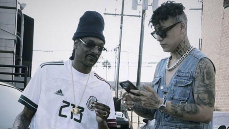 Snoop Dogg presume playera personalizada de la Selección Mexicana