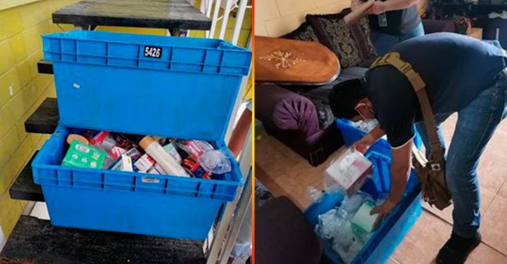 Recuperan en Ecatepec medicamentos robados