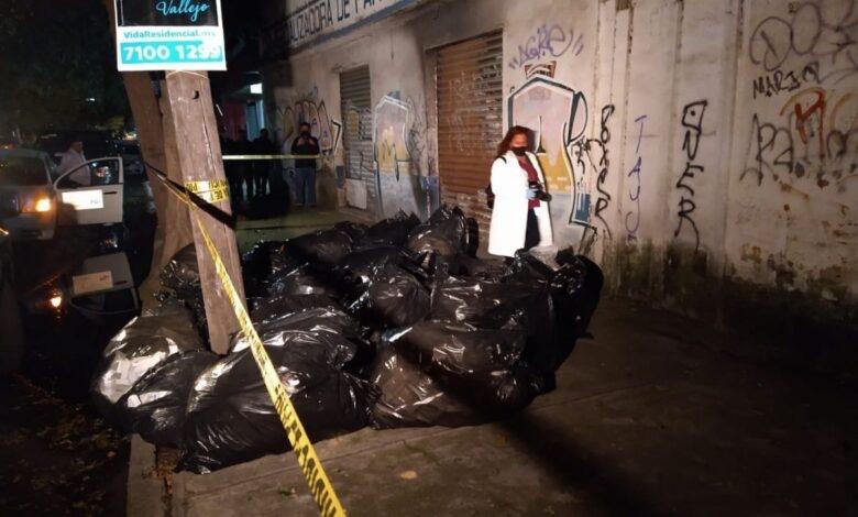 Descubren bolsas con medicamentos oncológicos en calles de Azcapotzalco