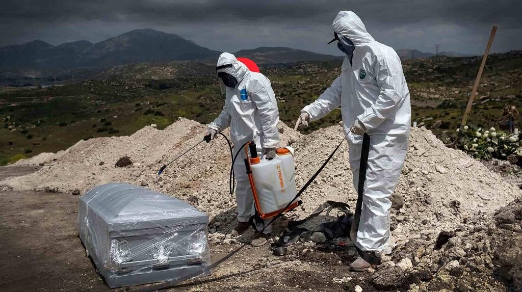 Al momento 122 mil 855 mexicanos han muerto por COVID19 en México
