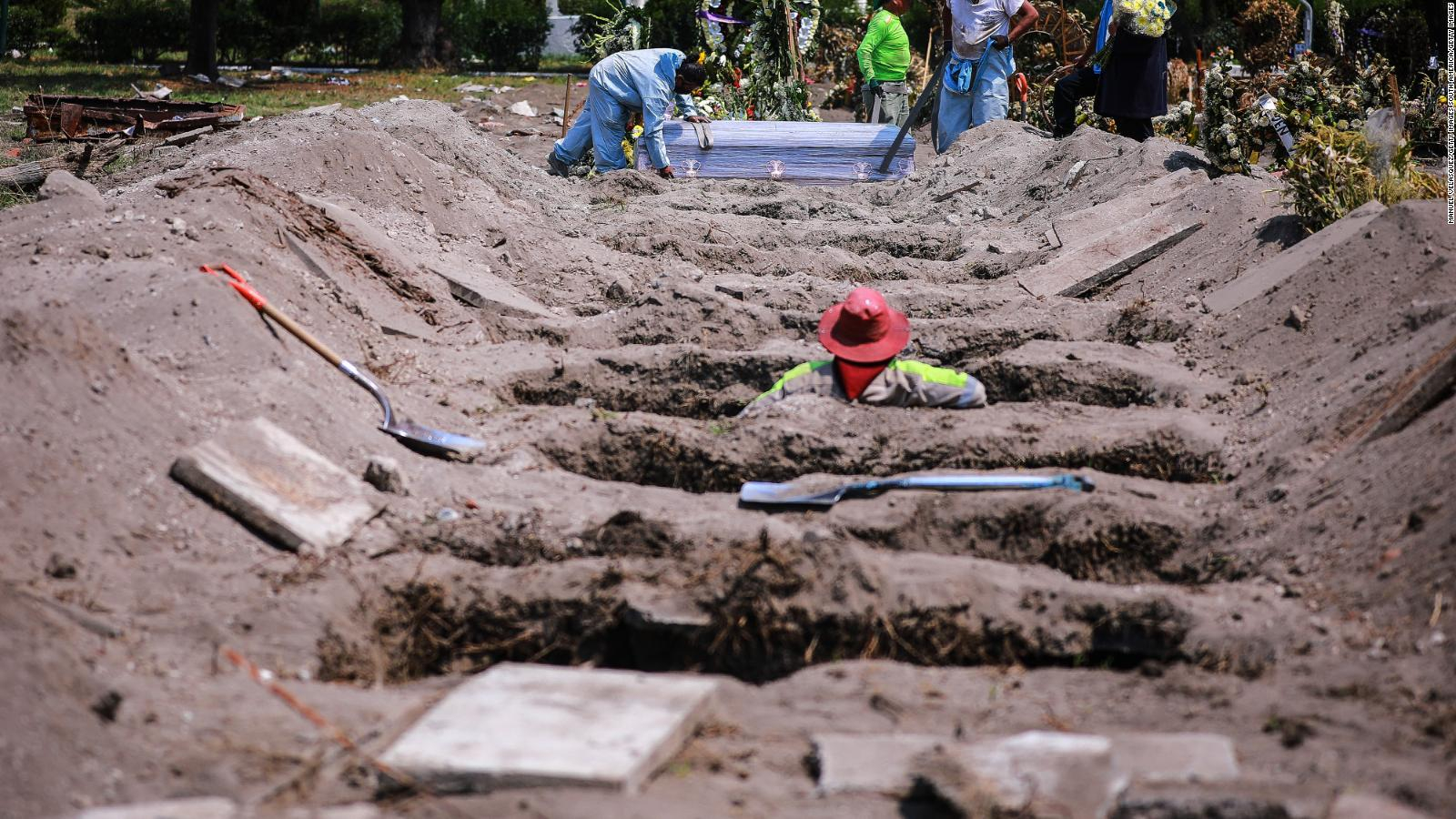 Informan que muertes por covid-19 en México sería de hasta 321 mil