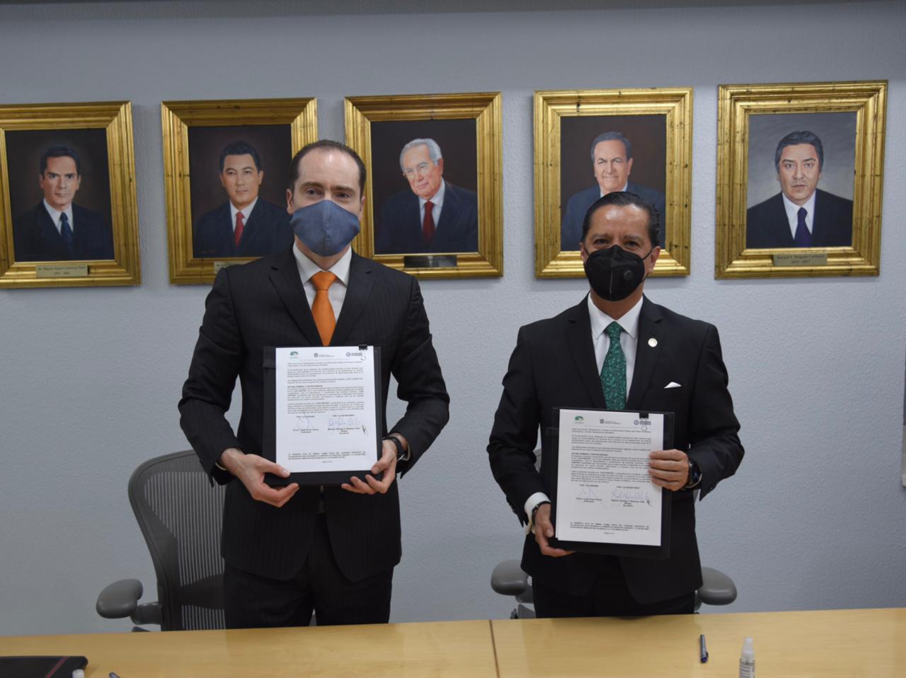 Codhem y la Secretaría de Seguridad trabajarán conjuntamente en materia de derechos humanos y contra la violencia de género