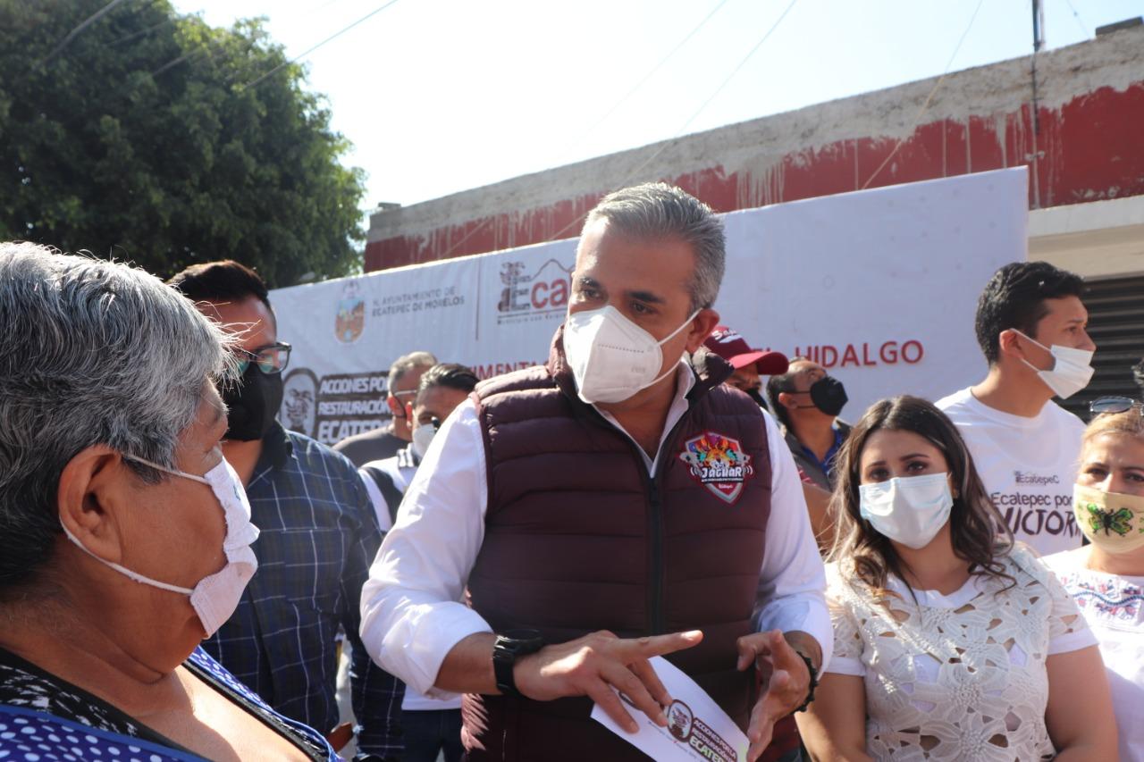 Alcalde de Ecatepec solicita al Congreso recursos extraordinarios por 2 mil millones de pesos para atender pandemia de Covid-19