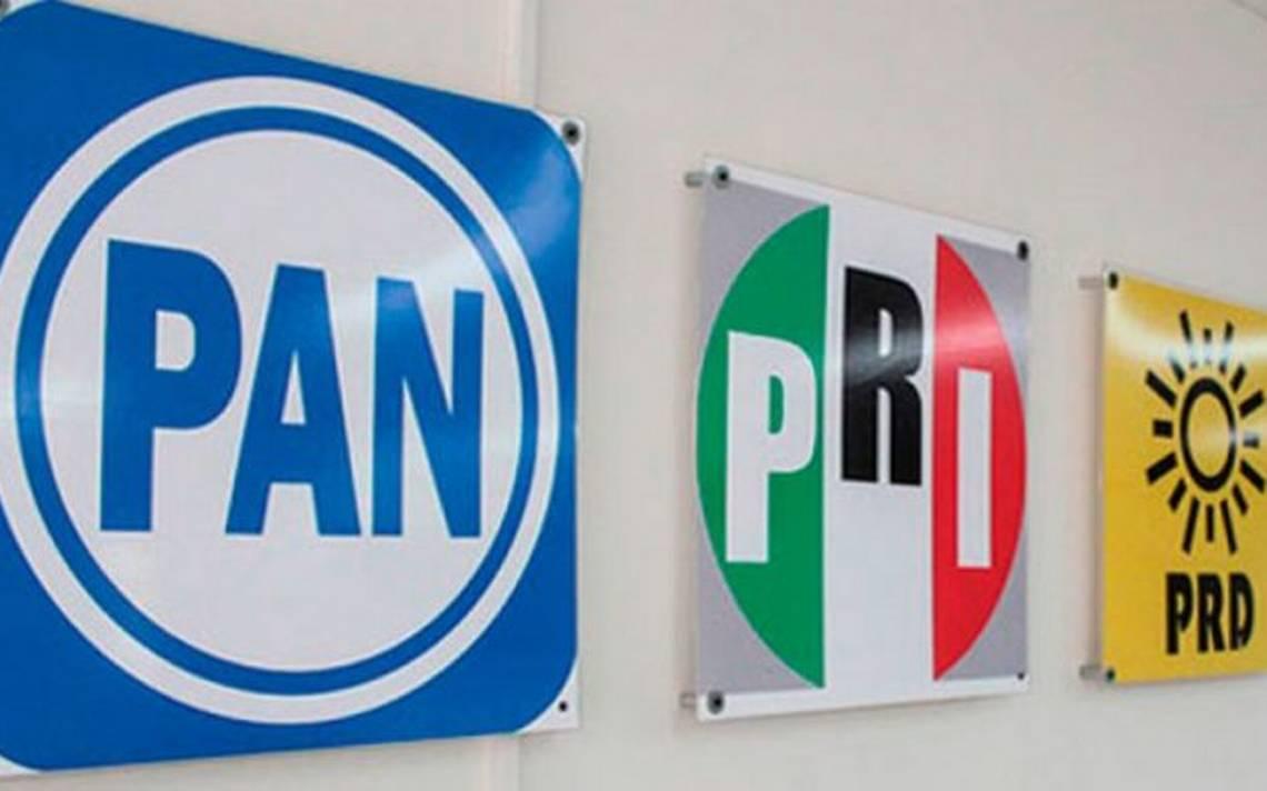El PRI Edoméx modifica coalición con el PAN y el PRD