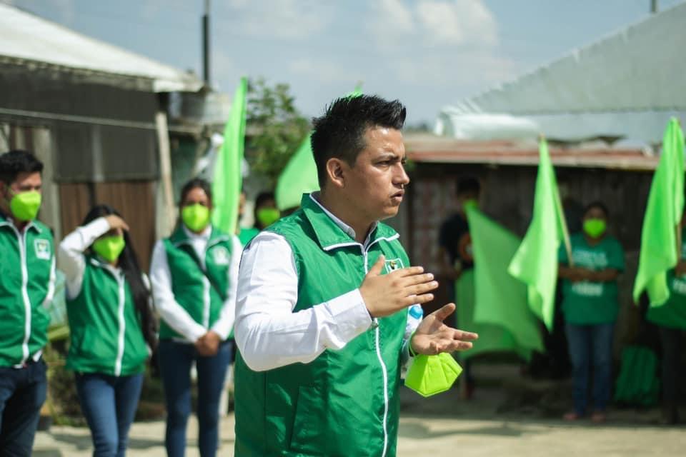 Luis Ángel Castañeda apuesta por proyectos de alto impacto en Ocuilan