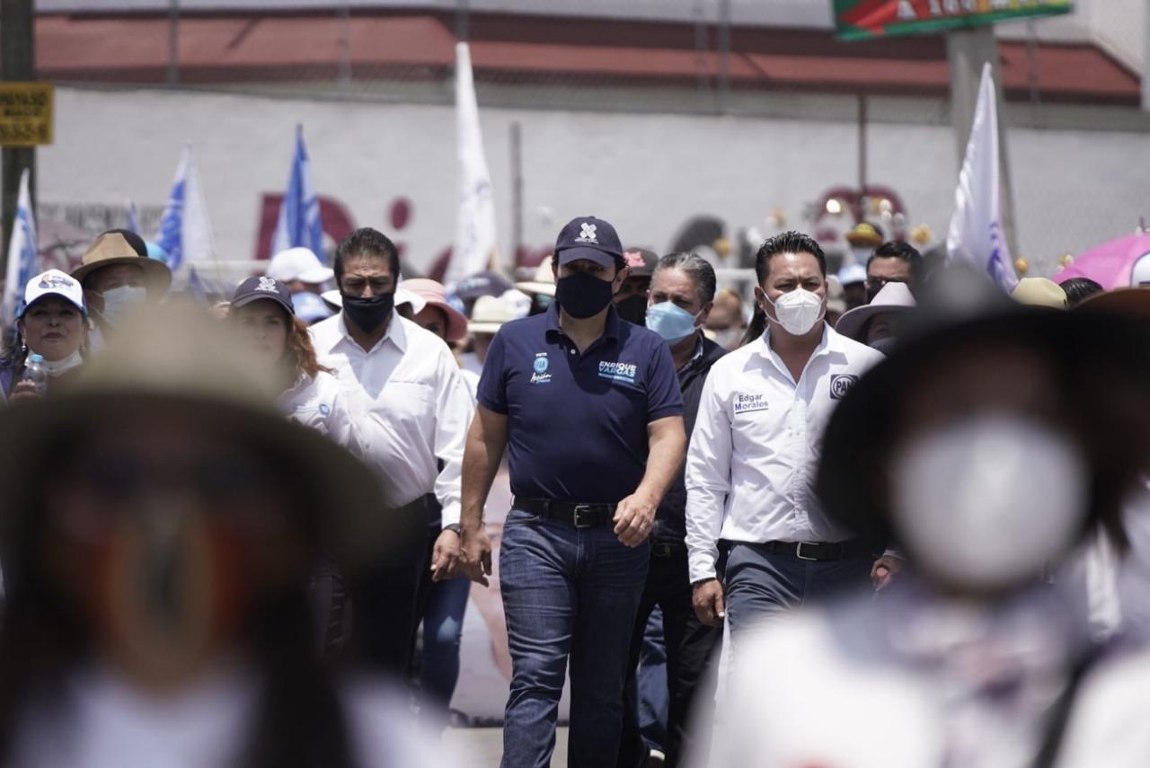 Los gobiernos emanados del PAN son los mejor evaluados por la ciudadanía: Enrique Vargas