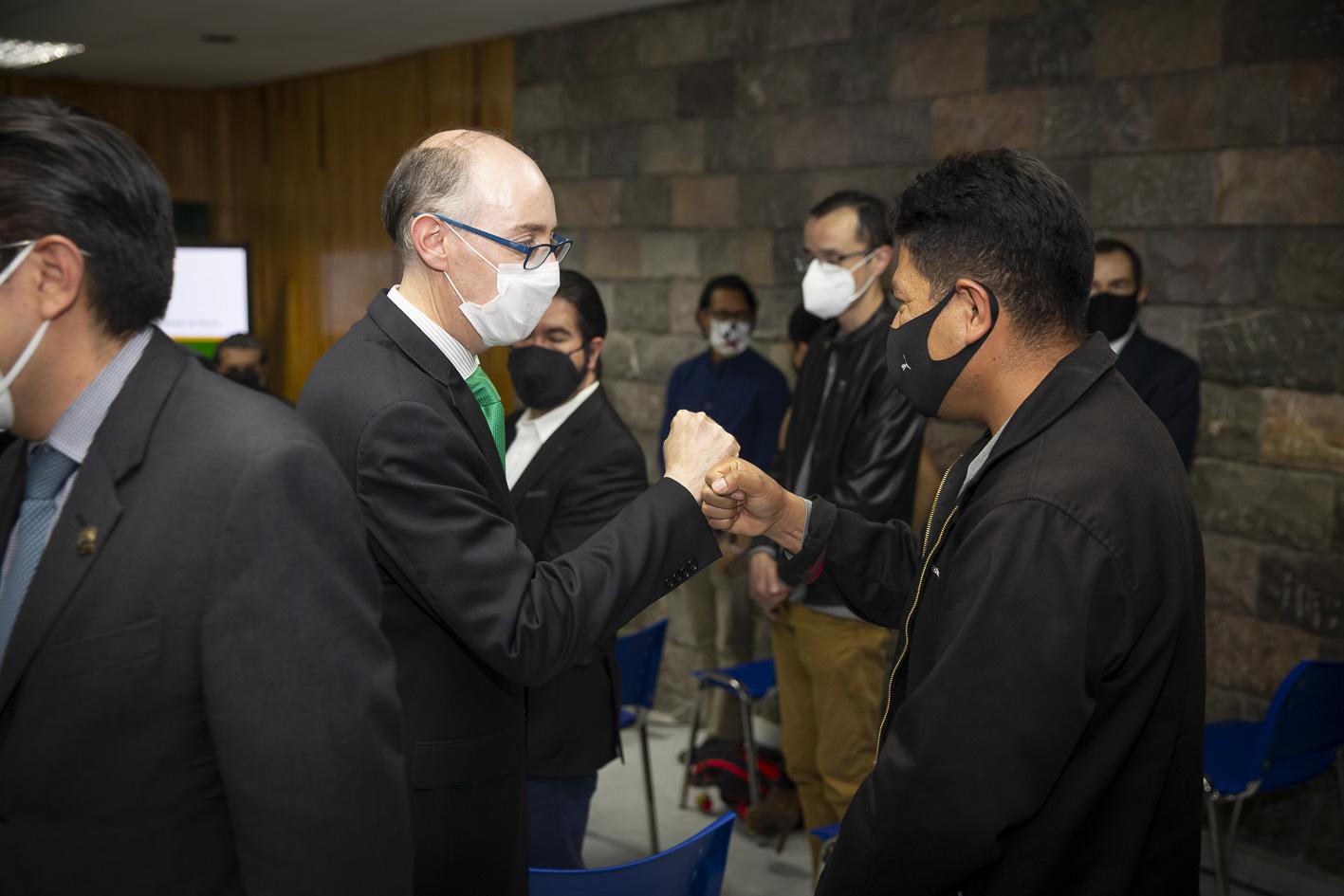 UAEM participará en construcción de un México incluyentey ambientalmente responsable: Carlos Eduardo Barrera Díaz