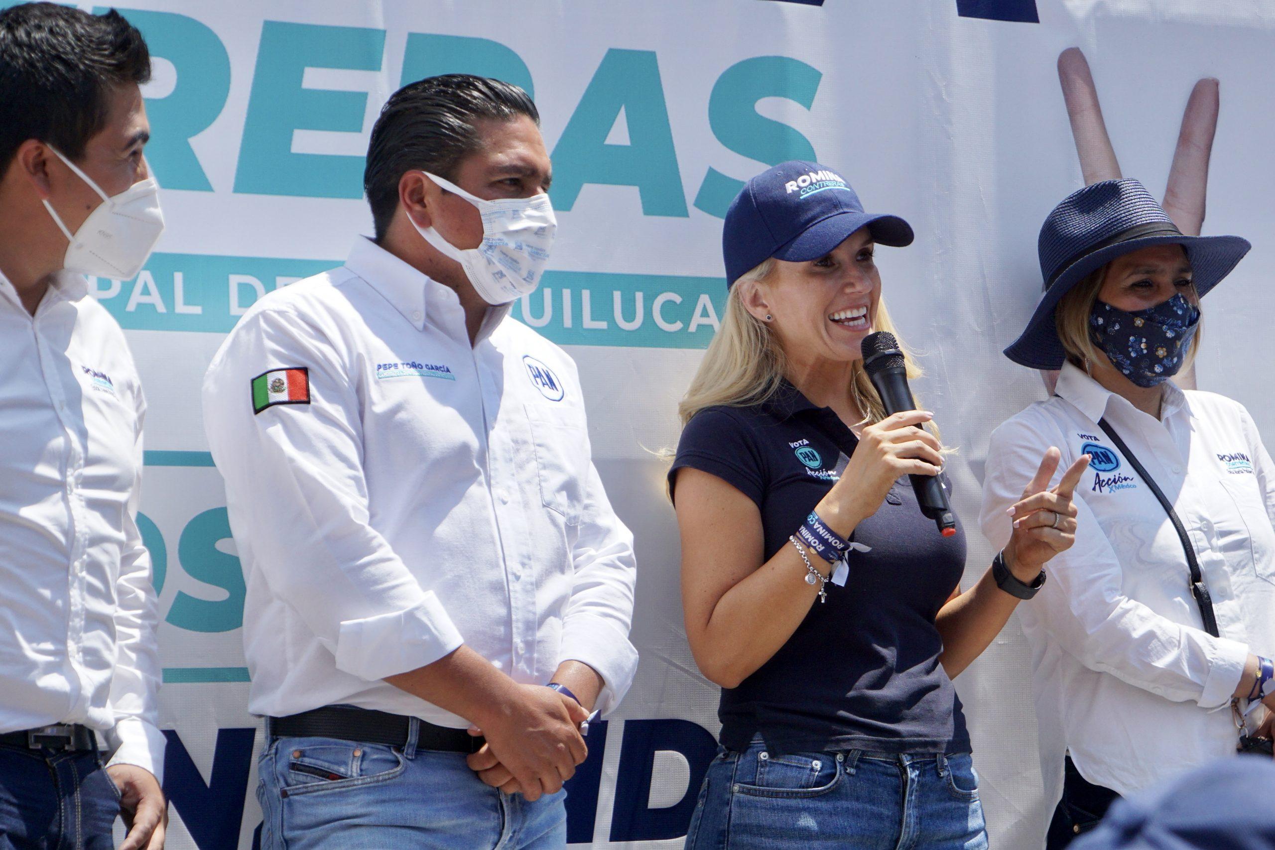 El PAN defenderá a Huixquilucan en las urnas este 06 de junio: Romina Contreras