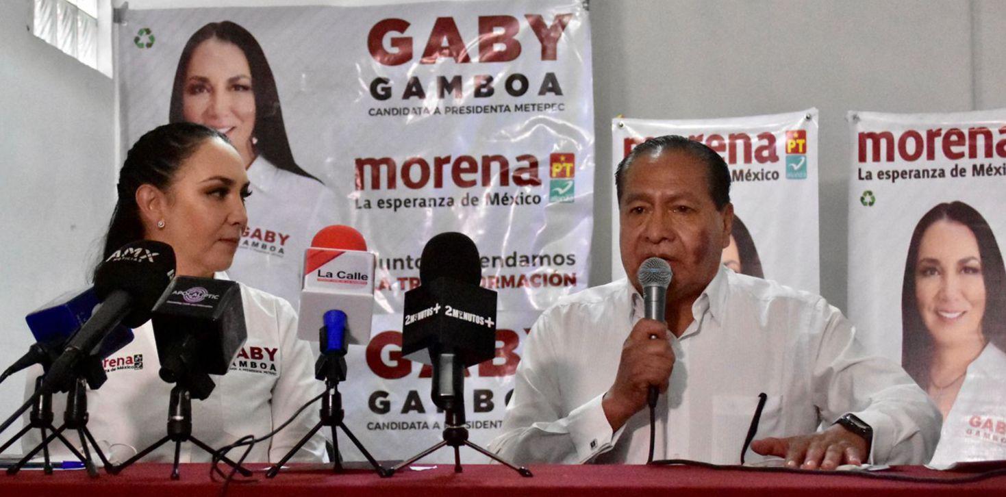 Priístas de Metepec siguen sumándose a la campaña de la morenista Gaby Gamboa