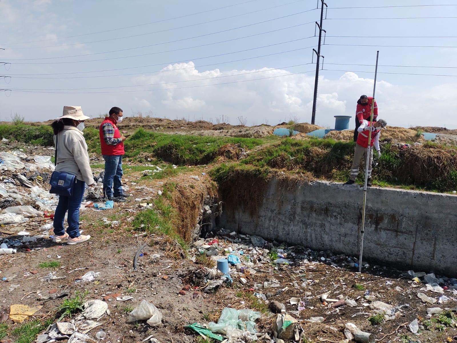 La Coordinación Municipal de Protección Civil y Bomberos de Toluca monitorea arroyos, ríos, canales y bordos ubicados en la capital