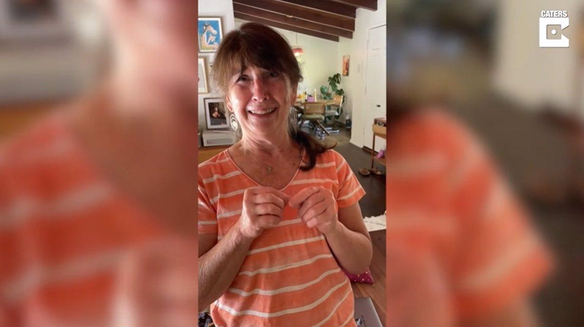 VIDEO: ¡Conmovedor! Abuelita conoce a su nieta después de 6 meses en aislamiento