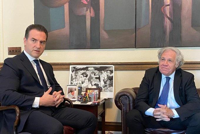 Adrián de la Garza candidato del PRI, denunció ante la OEA intromisión de AMLO en elecciones
