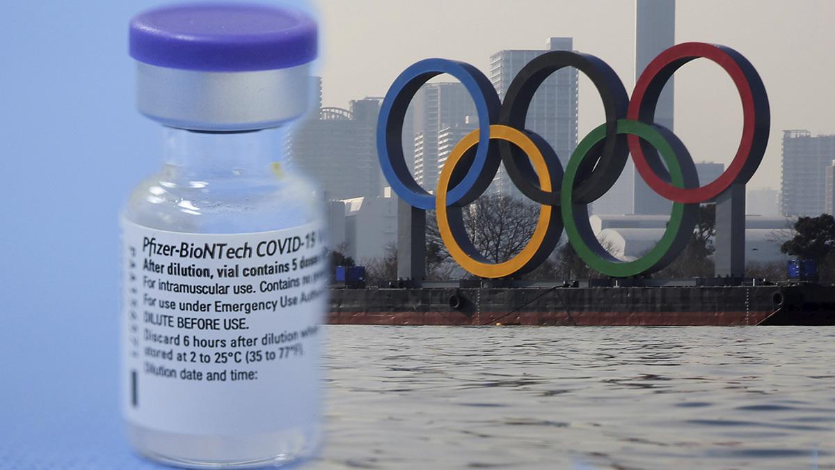 Prometen vacunas a todos los deportistas de los Juegos Olímpicos de Tokio