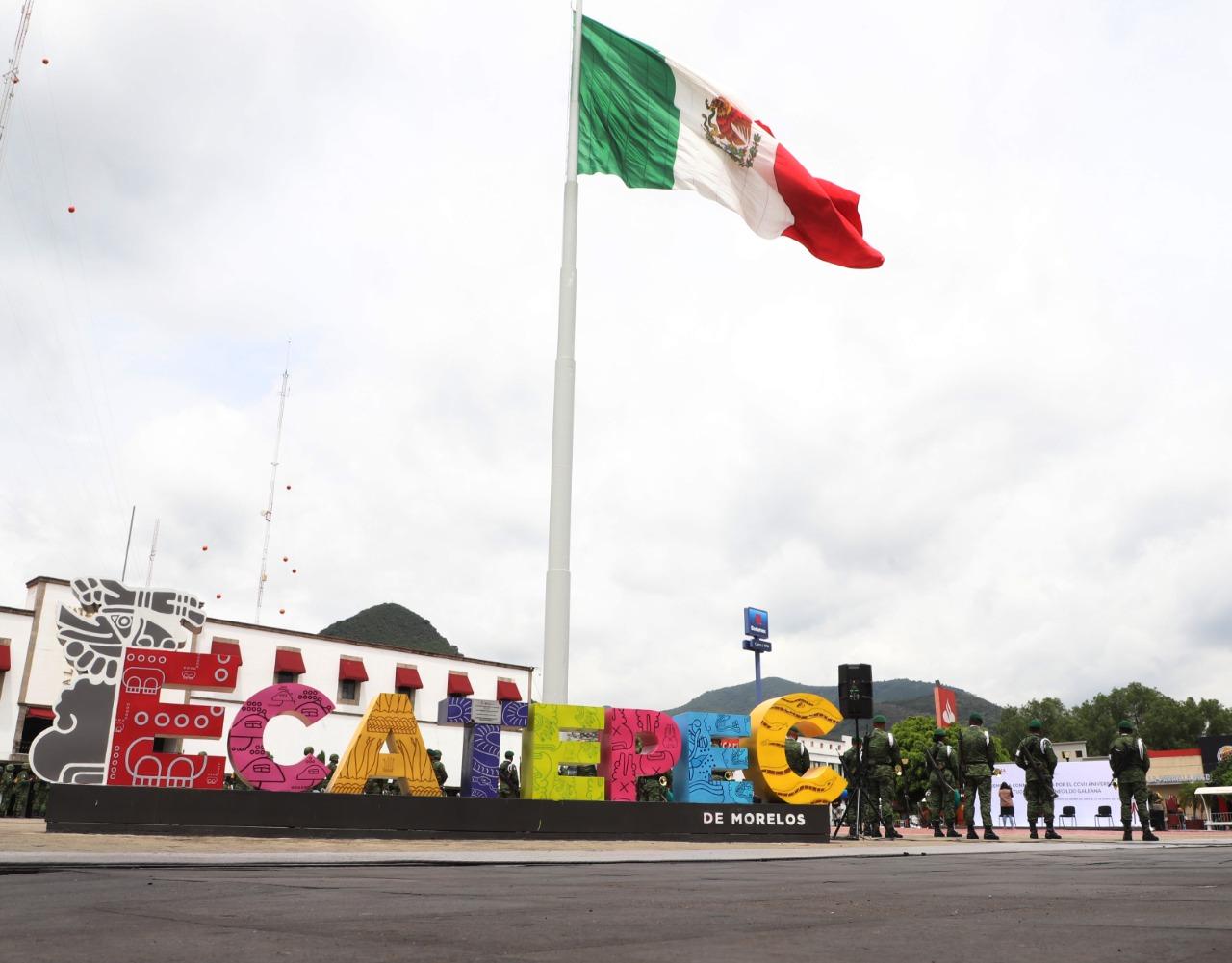 Ecatepec y el Ejército Mexicano conmemoran el 207 aniversario luctuoso de Hermenegildo Galeana