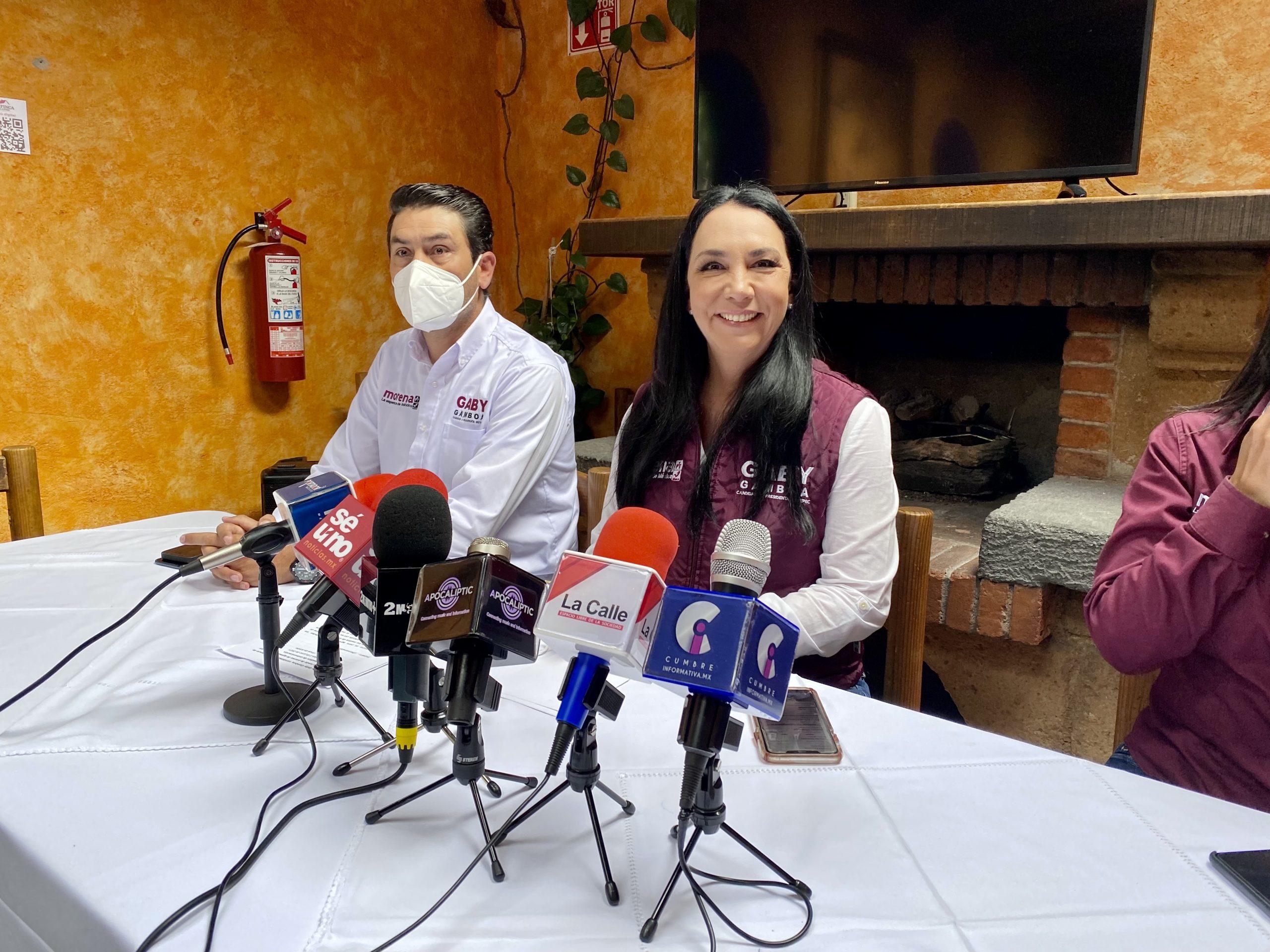Pide Gaby Gamboa profunda fiscalización en campañas de Metepec