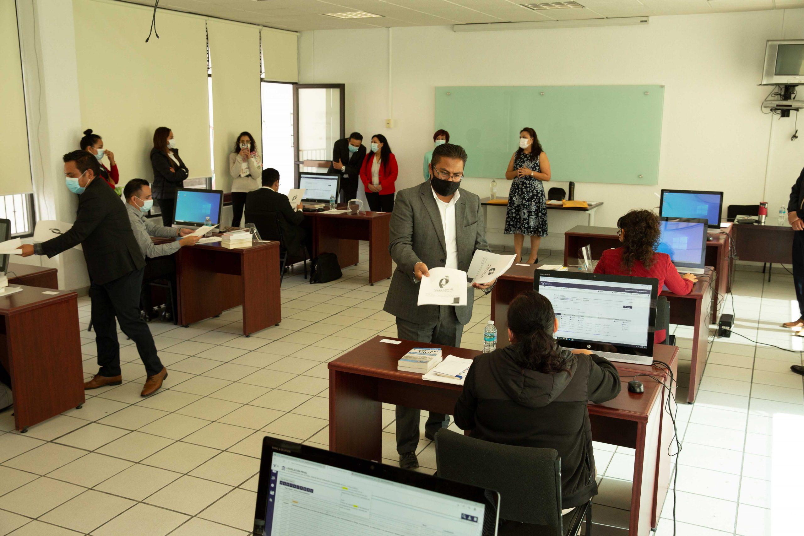 México evalúa destaca buenas prácticas de la Carrera Judicial En Edomex