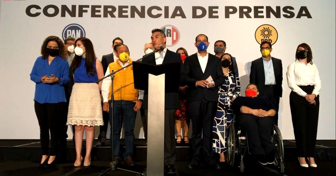 """""""Nada de acuerdos en lo oscuro, solo diálogos públicos""""; responden PRI, PAN y PRD a AMLO"""
