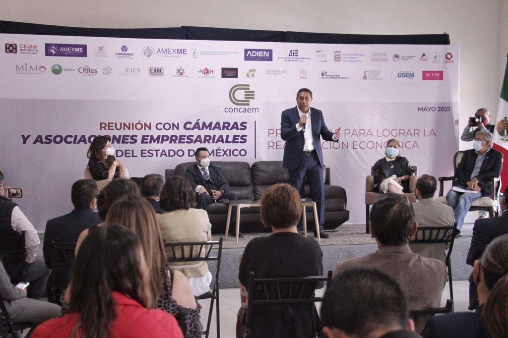 """Toluca otra vez es atractiva para invertir: empresarios; Juan Rodolfo Sánchez """"ha hecho bien las cosas"""", reconocen"""