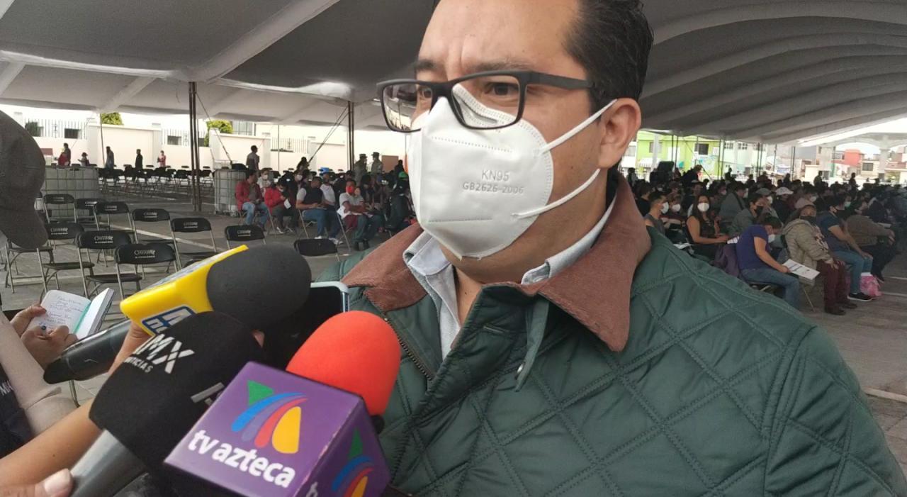 Buscan vacunar a 2.3 millones de personas de 40 a 49 años en Edomex; comenzó esta etapa en Lerma y San Mateo Atenco