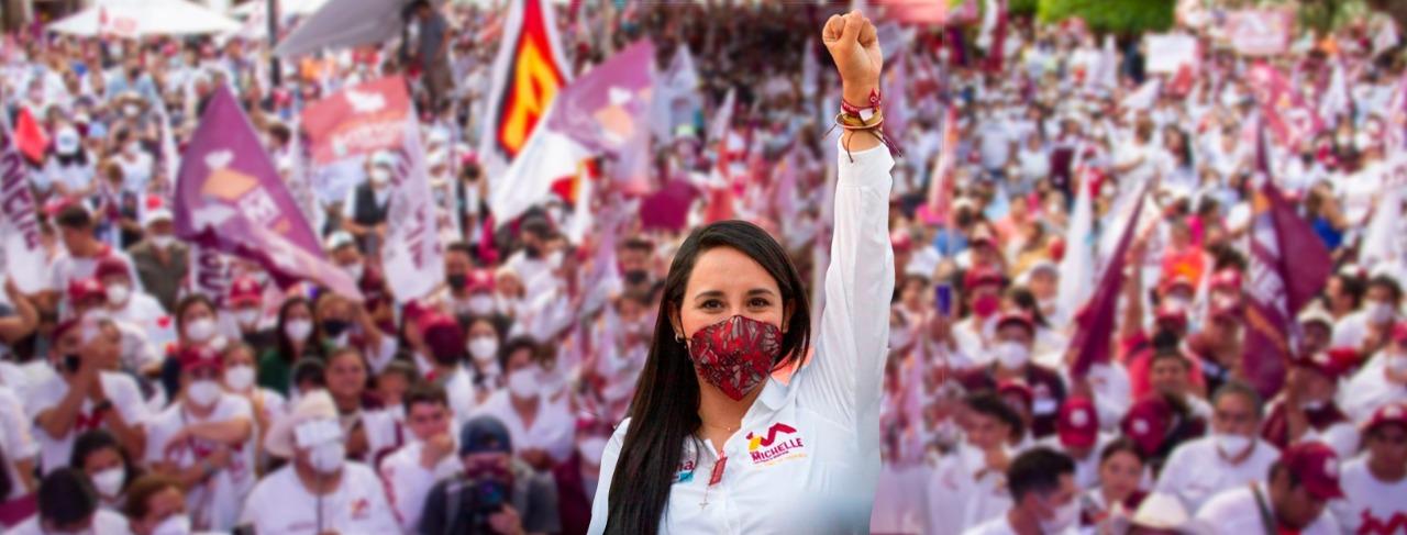 Gana MORENA en Valle de Bravo; hoy comienza una nueva historia y no les fallaremos: Michelle Núñez