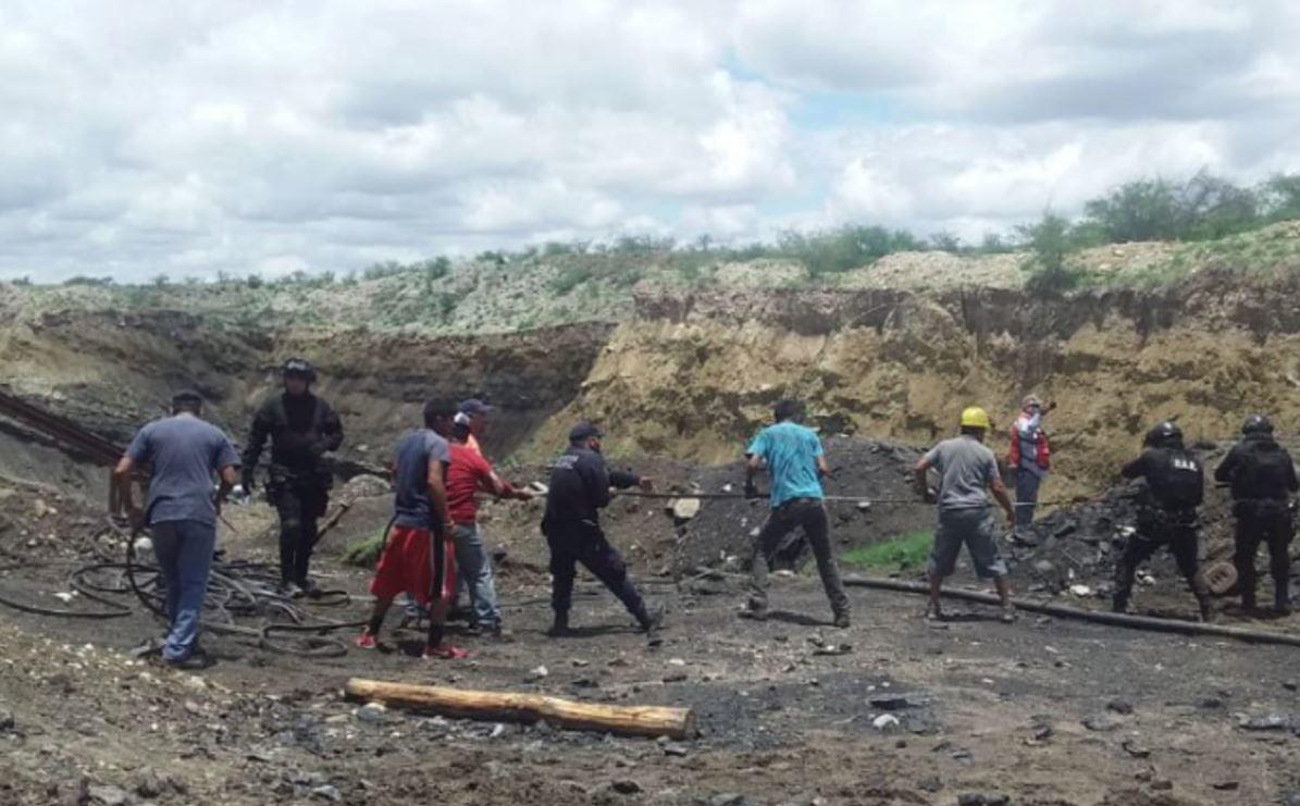 ¡Lamentable! Al menos 7 heridos tras colapso de mina en Coahuila