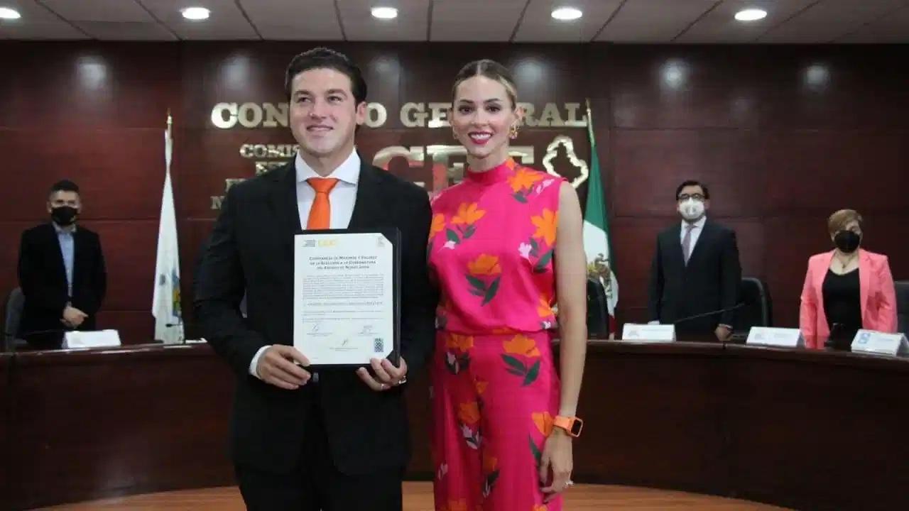 ! Ya es oficial! Recibe Samuel García constancia que lo avala como gobernador de Nuevo León