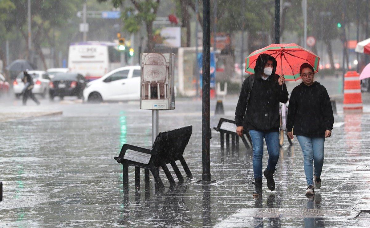 Pronóstico del clima para este 12 de agosto de 2021, EDOMEX y CDMX