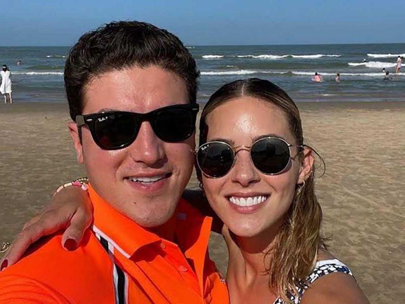 Se toman a broma Samuel García y Mariana la multa del INE