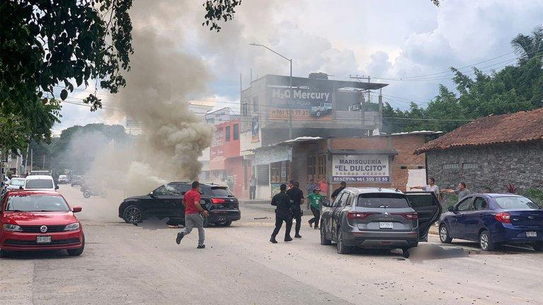 Al menos cuatro muertos deja una balacera en Tuxtla Gutiérrez, Chiapas