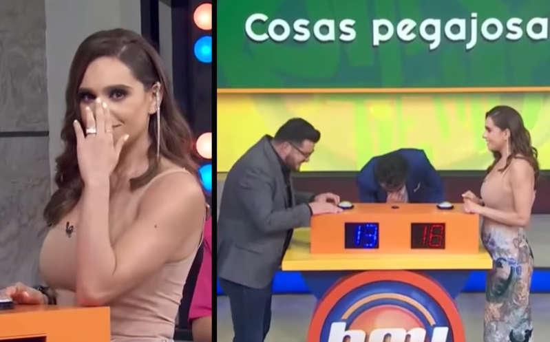 VIDEO: Tania Rincón vive incómodo momento en 'Hoy' y se vuelve viral