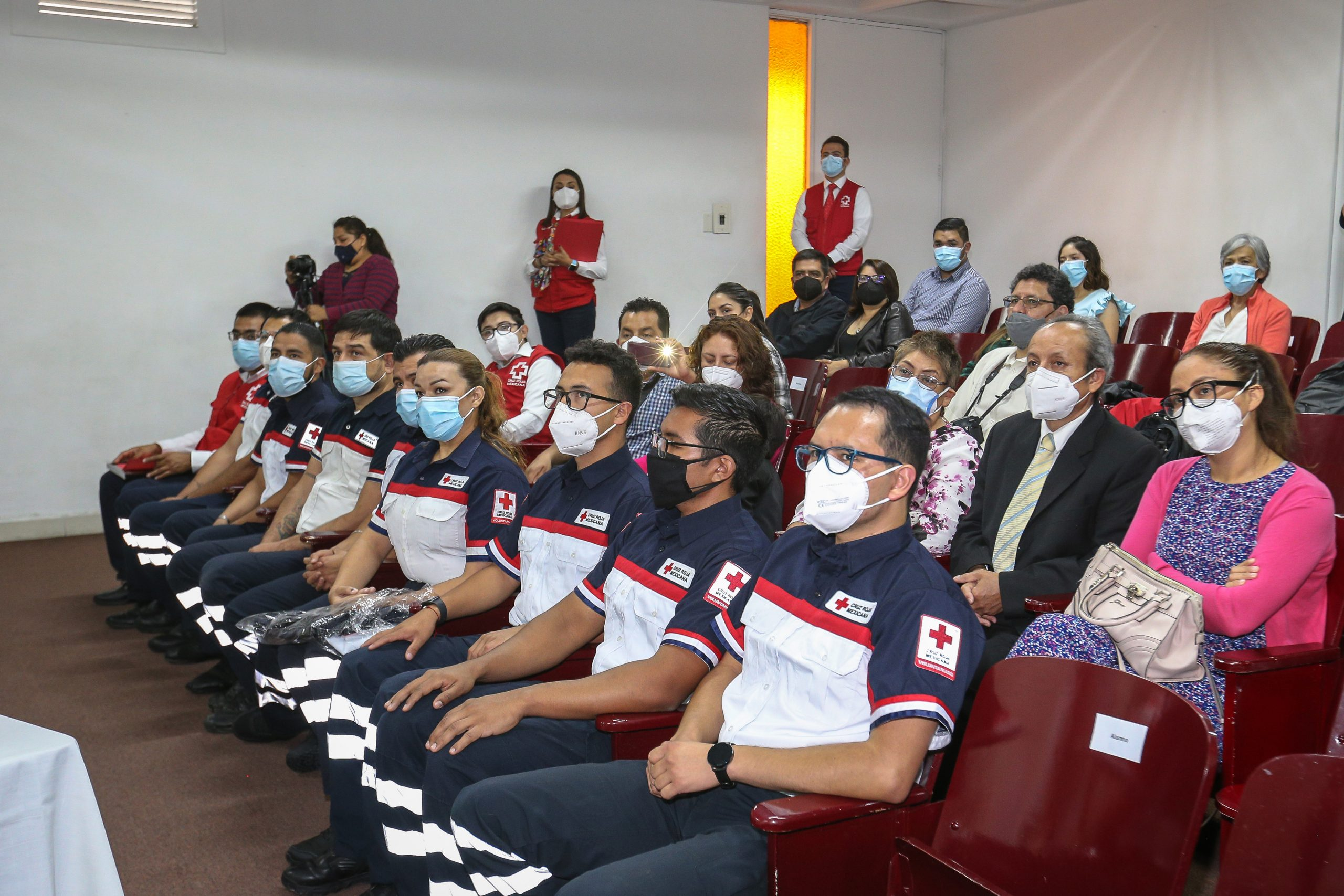 Colabora UAEM en profesionalización de paramédicos de Cruz Roja Mexicana