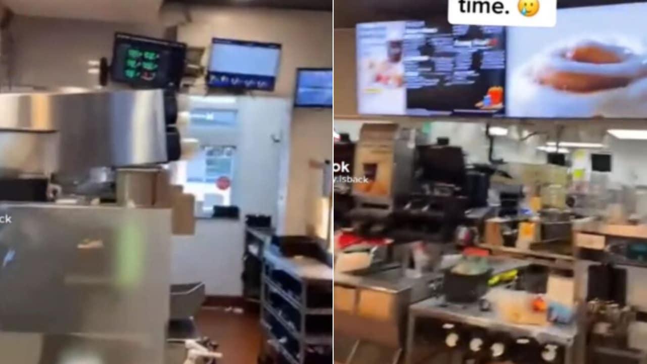¡Que valor! Todos los empleados de un McDonald's renuncian a media jornada en EU
