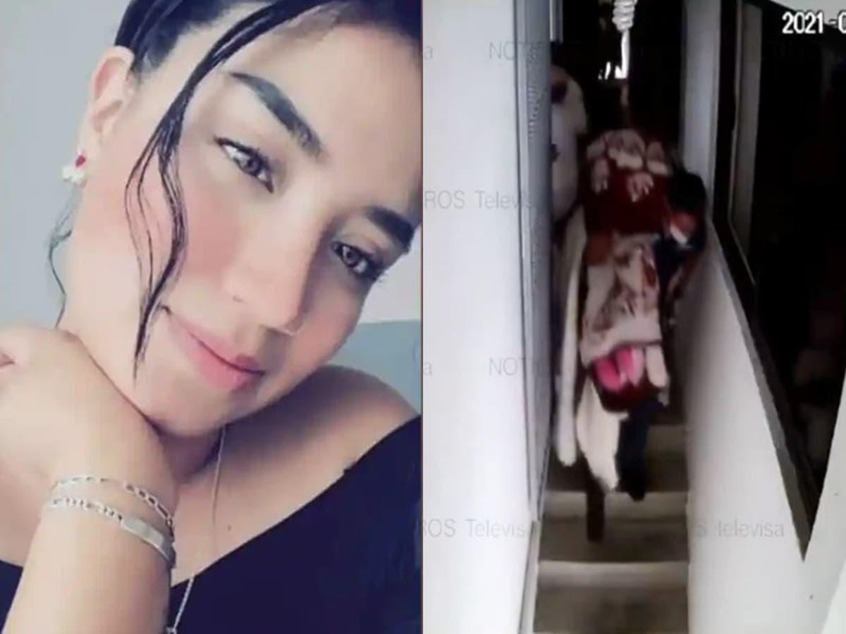 #VIDEO Cámaras captan momento en que feminicidas sacan el cuerpo de Alejandra