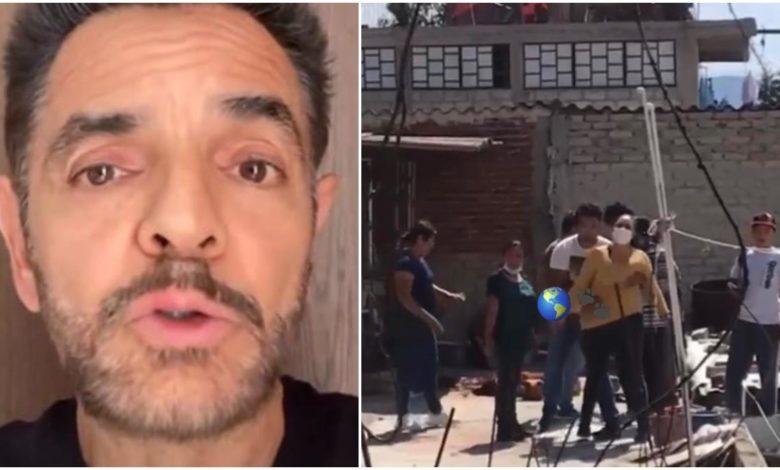 Eugenio Derbez pide justicia por perro asesinado por familias