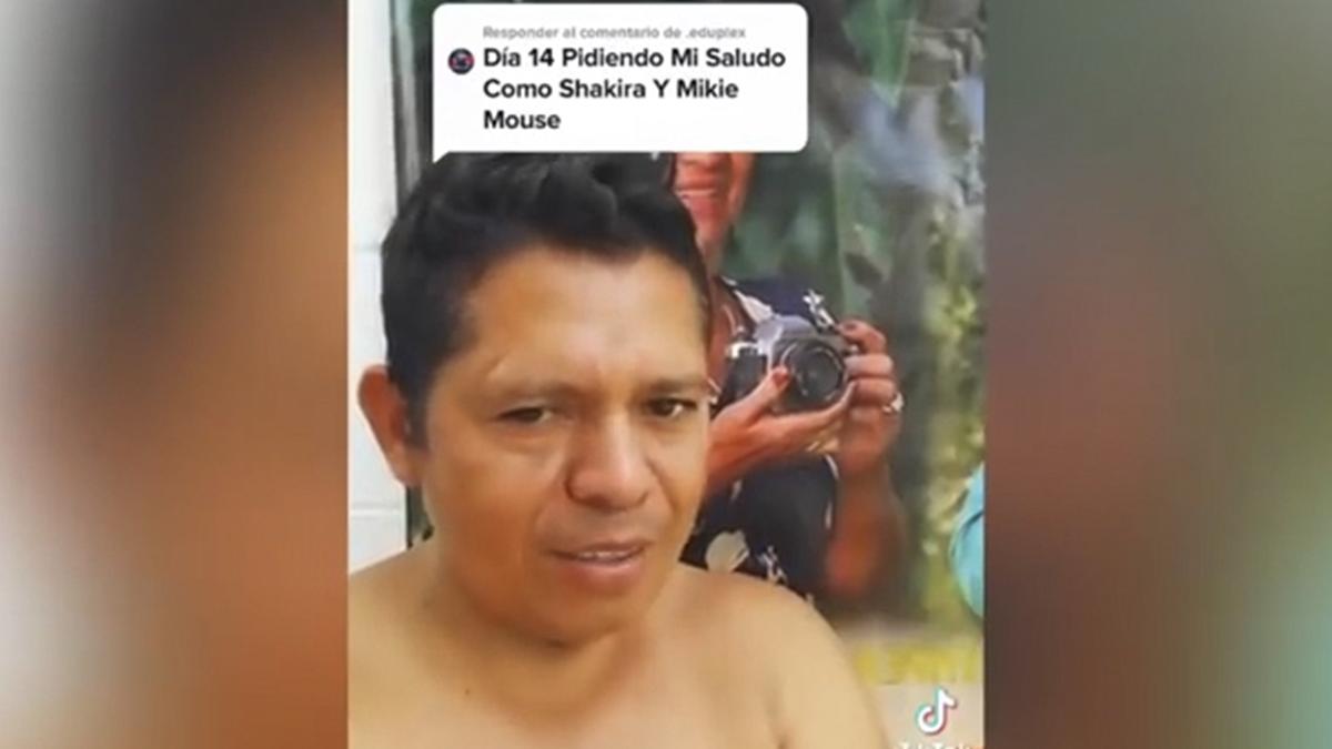 ¡Canta igualito! Guatemalteco se vuelve viral tras cantar como Shakira