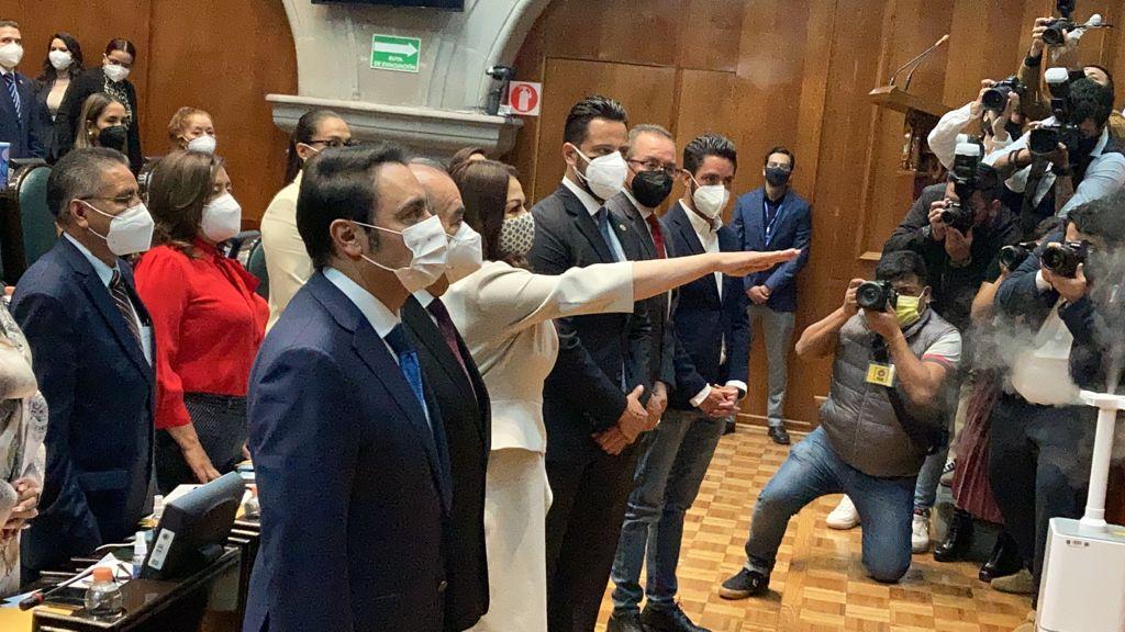 #VIDEO Myrna García toma protesta como presidenta de la CODHEM