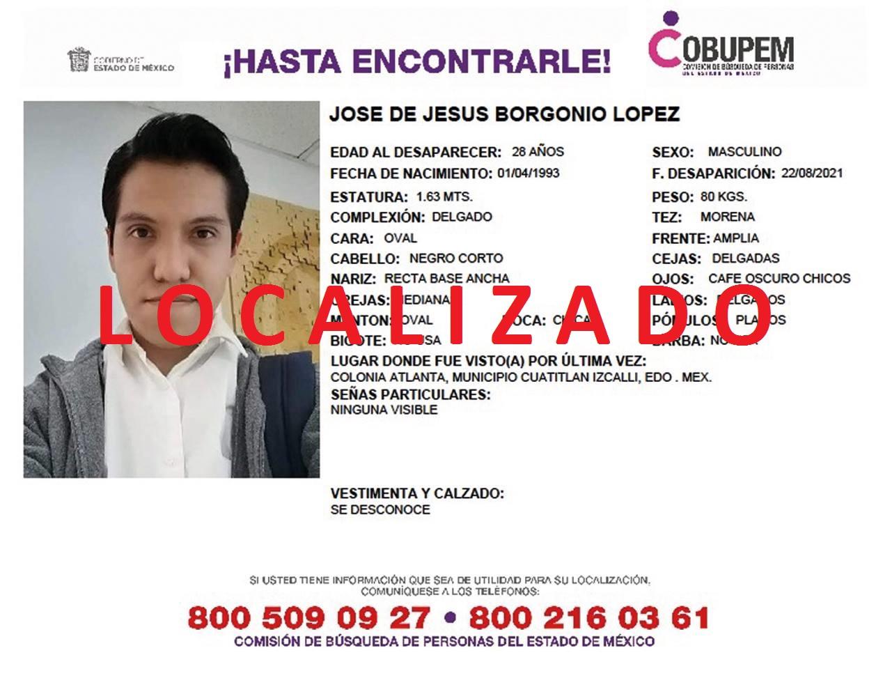 Papá e hijo desaparecidos en Cuatitlán Izcalli; ya fueron localizados