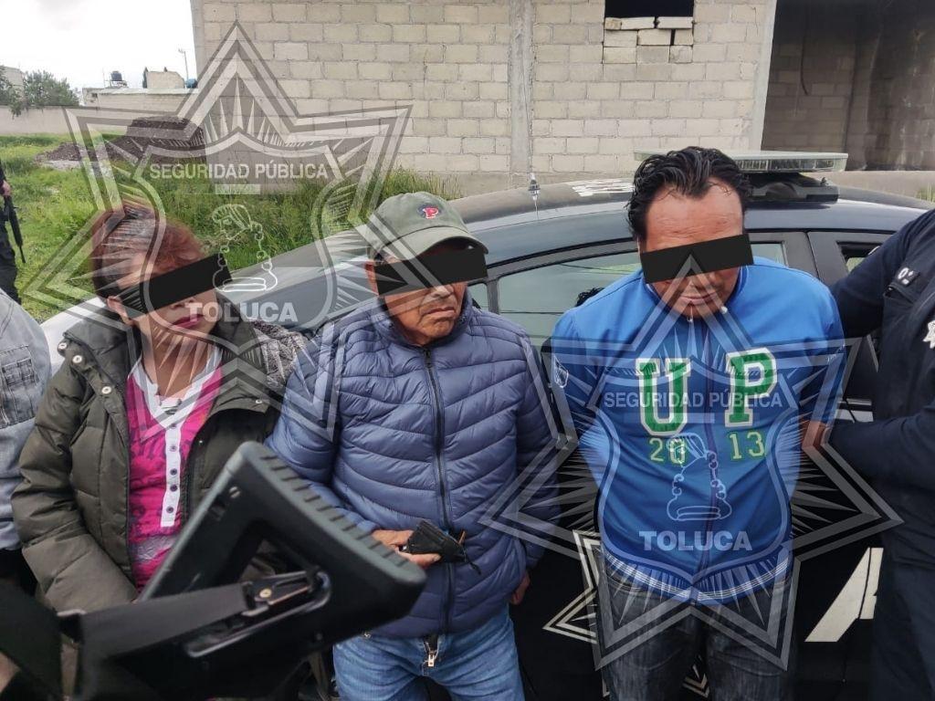 Detiene Policía de Toluca a 7 personas por privación de la libertad de una menor de edad.