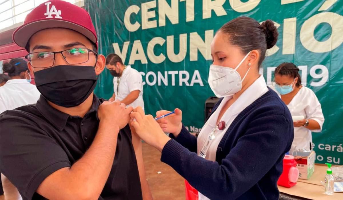 Primera dosis 18 29 años de Jilotzingo, Nicolás Romero e Isidro Fabela