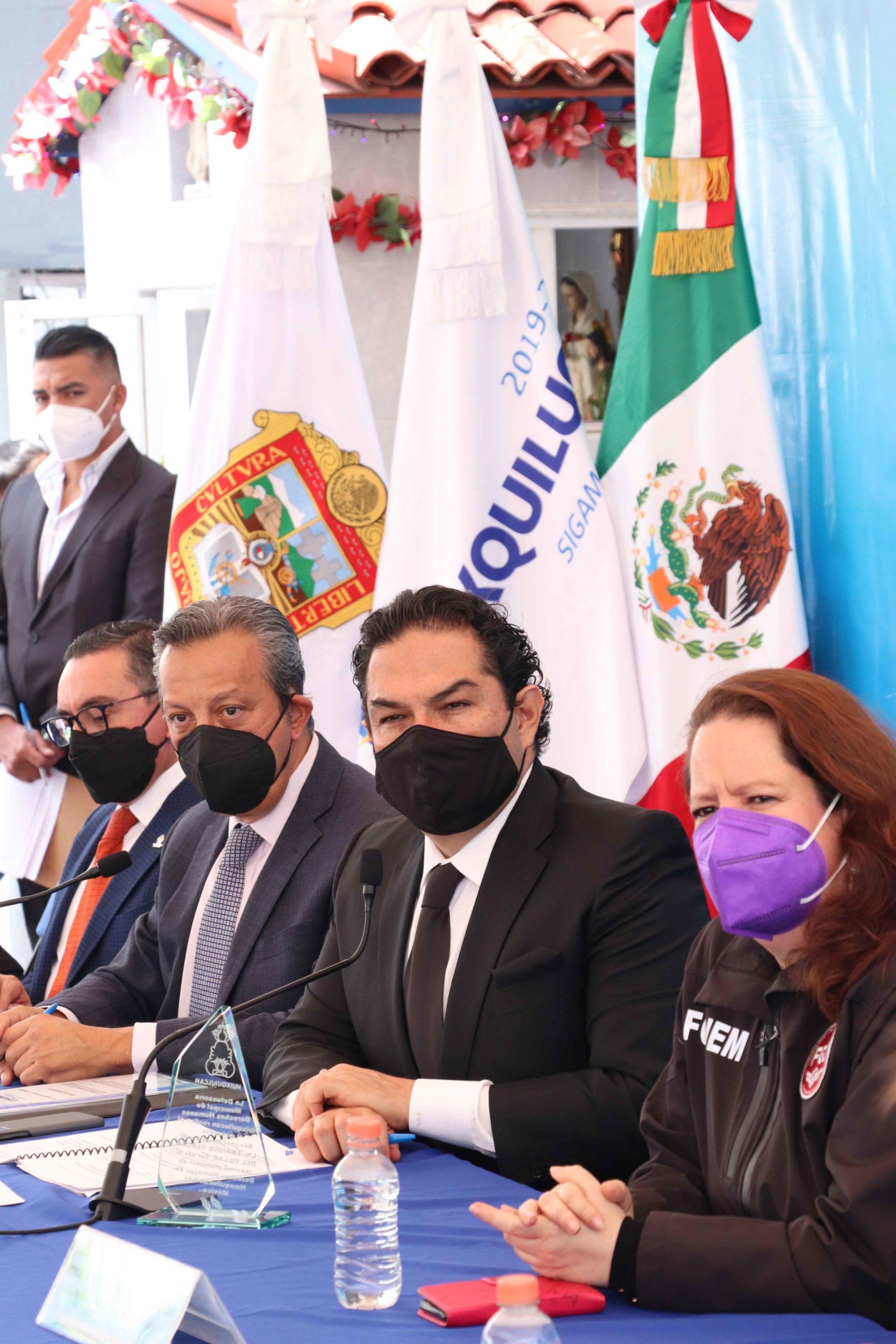 Reconoce gobierno de Huixquilucan labor de servidores públicos en materia de seguridad