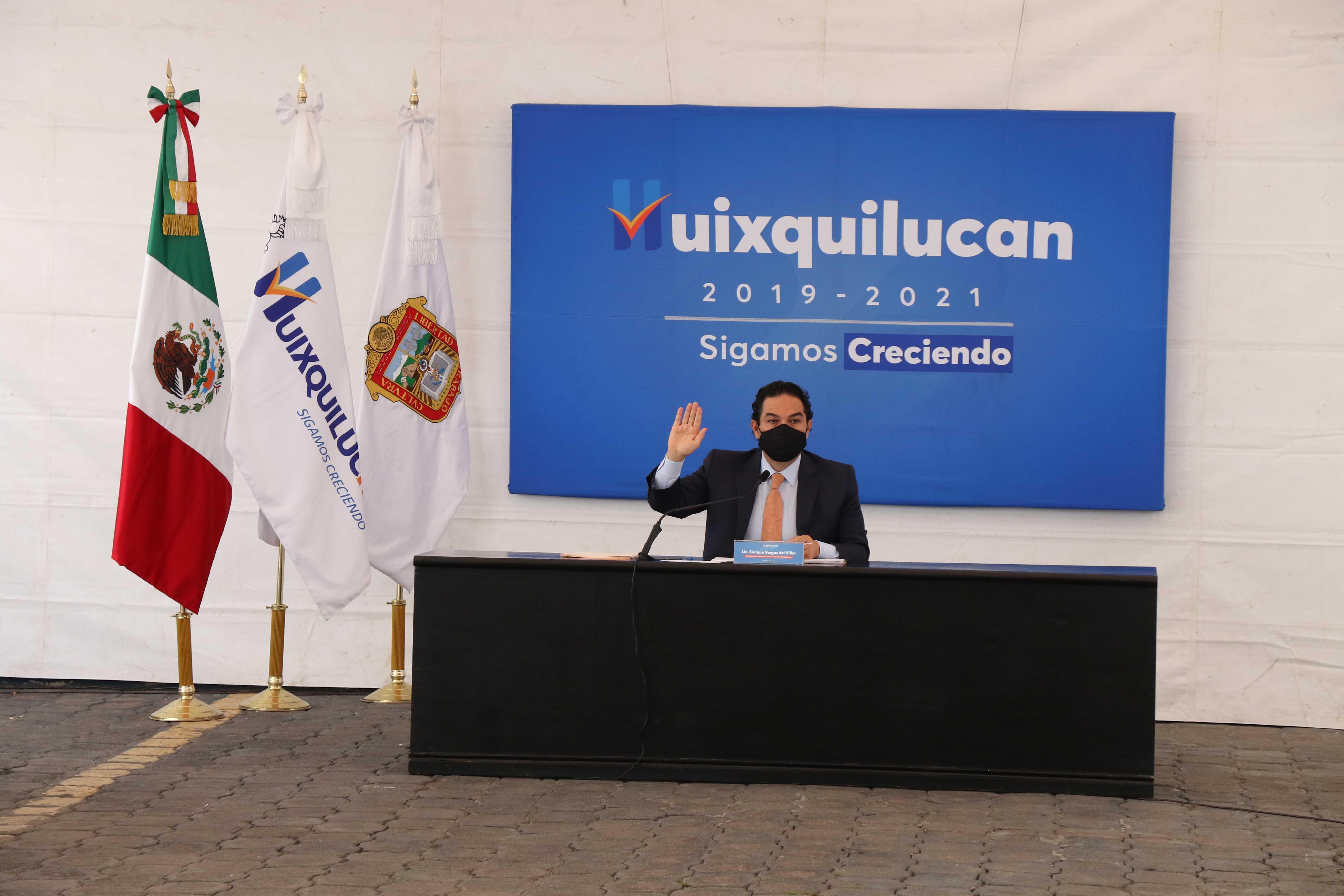 """Huixquilucan amplia campaña """"juntos por nuestros comerciantes"""""""