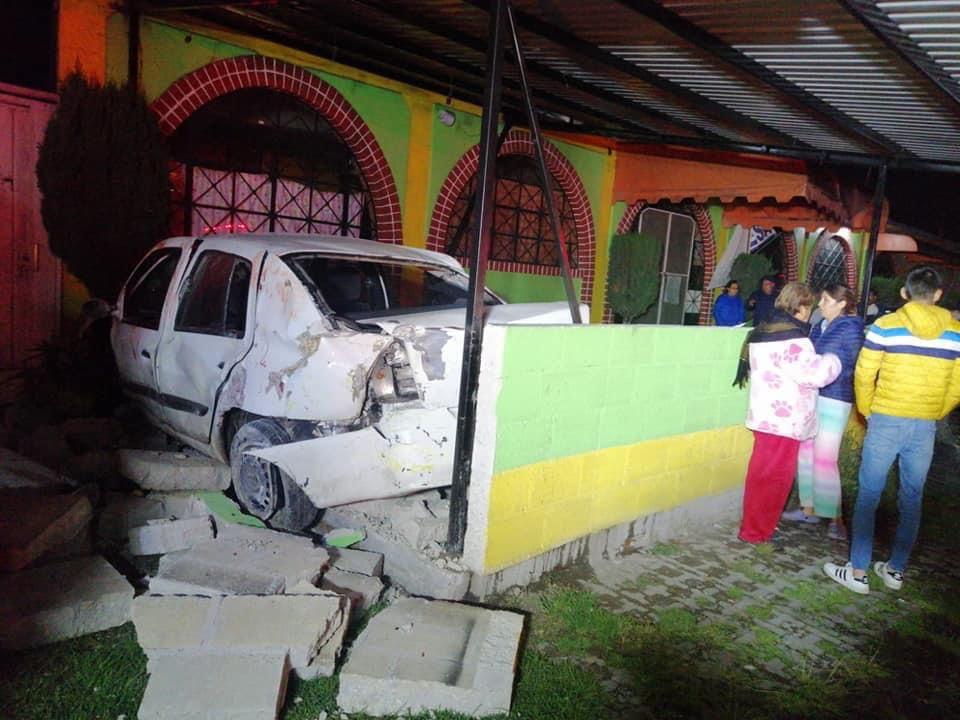 """""""Hasta la cocina"""" fue a dar un auto Toluca"""